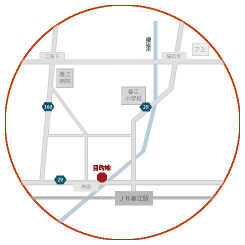 懐食 樽までのアクセスマップ