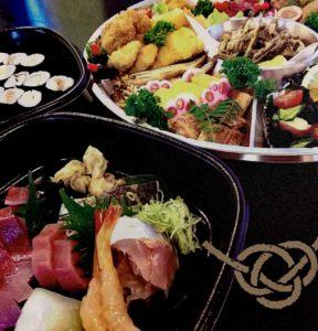 懐食樽(樽鮨)のオードブル