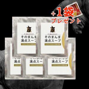 1袋プレゼント!お得なすっぽんスープ5袋セット