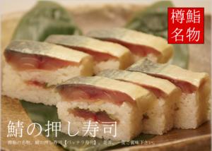 名物鯖の押し寿司