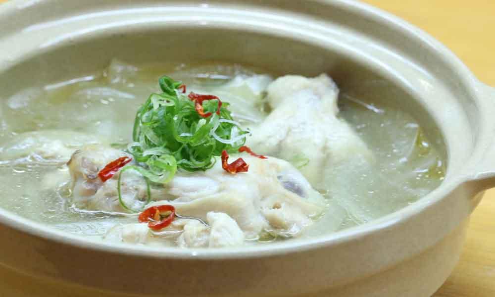 超簡単参鶏湯風スープ すっぽんスープ使用レシピ