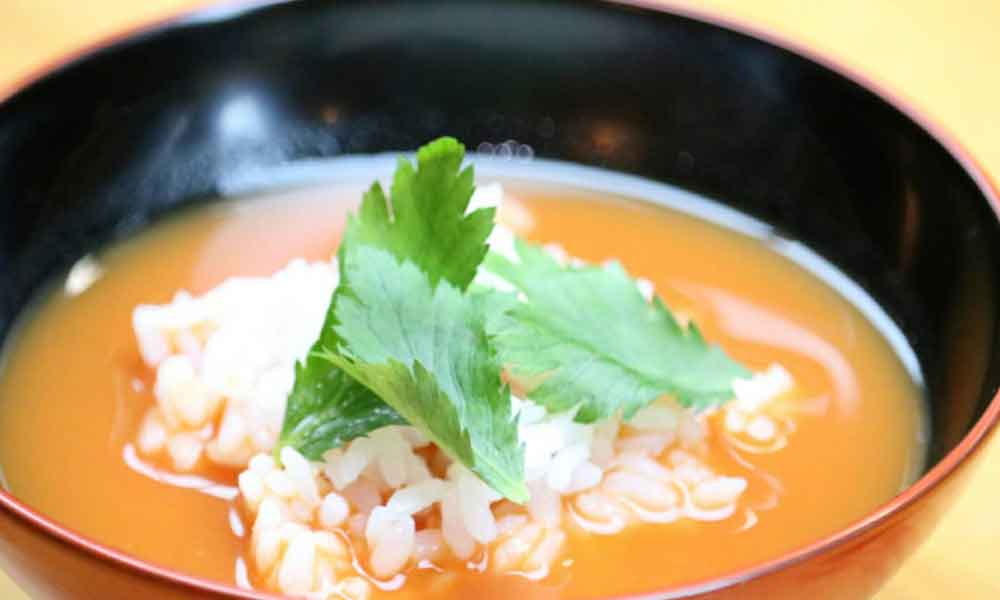 夏にぴったり!冷やしスープ茶づけ|すっぽんスープ使用レシピ