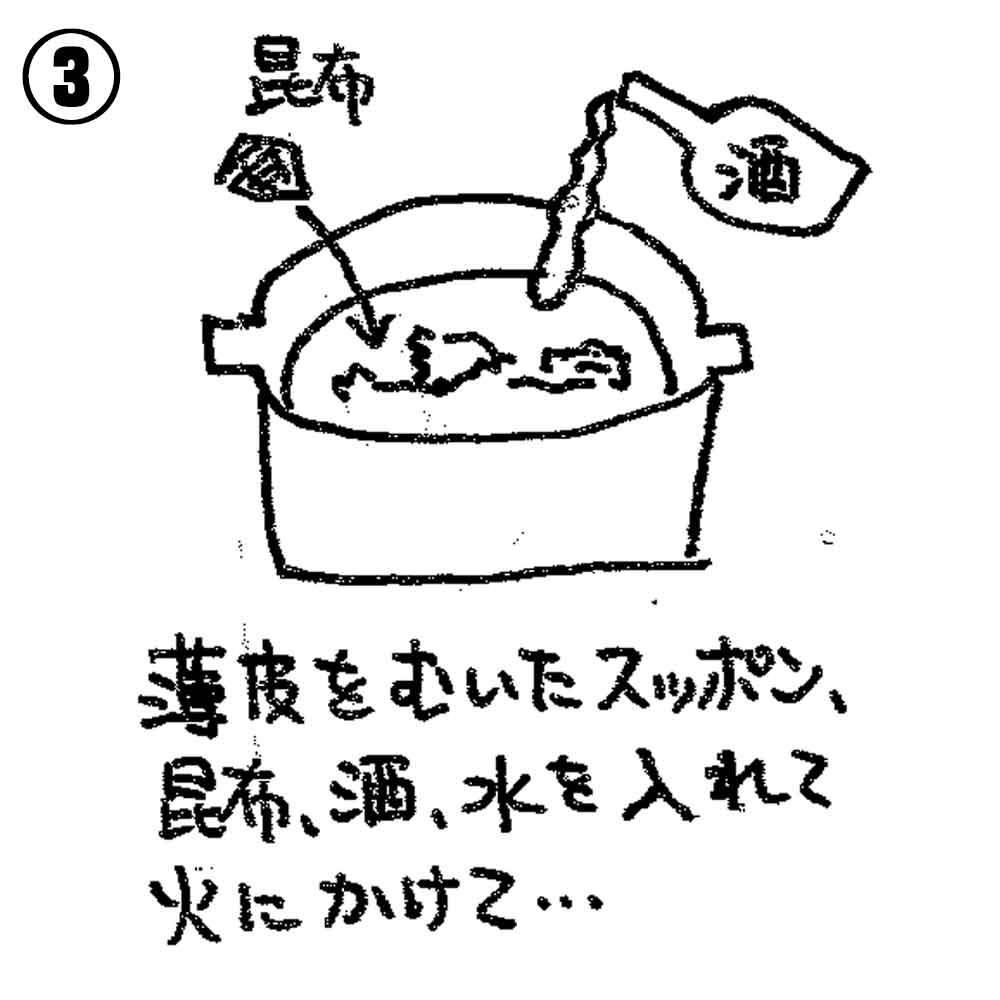すっぽんバーベキューの美味しい食べ方3