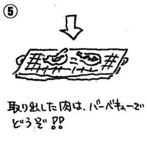 すっぽんバーベキューの美味しい食べ方5